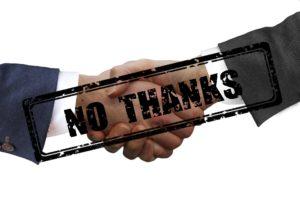 Handshakes No Thanks