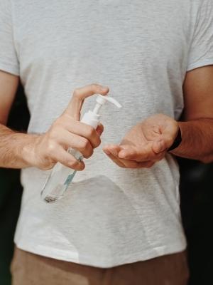 Hand sanitiser COVID-19
